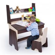 Детская парта со стулом Соня регулируемая с надстройкой