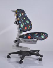 Детское кресло Mealux Y-818 GB обивка черная с жучками